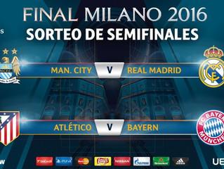 City-Real Madrid, el cruce en la semifinal