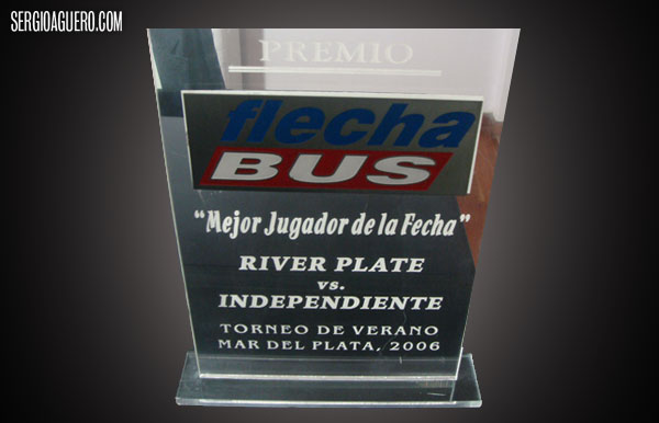 Mar del Plata Tourney Award