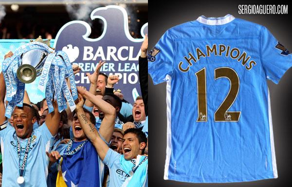 Camiseta Campeones PL