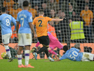 Ten Man City let two-goal slip in defeat to Wolves