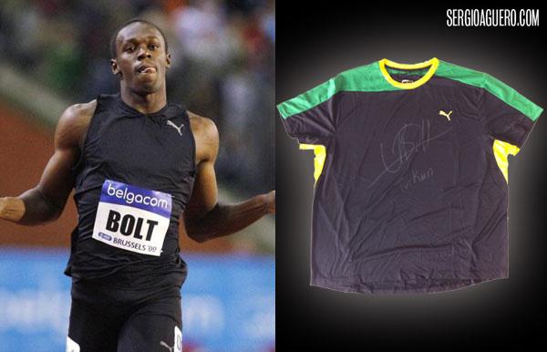Camiseta de Usain Bolt