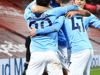 City trash Liverpool to end Anfield jinx in style