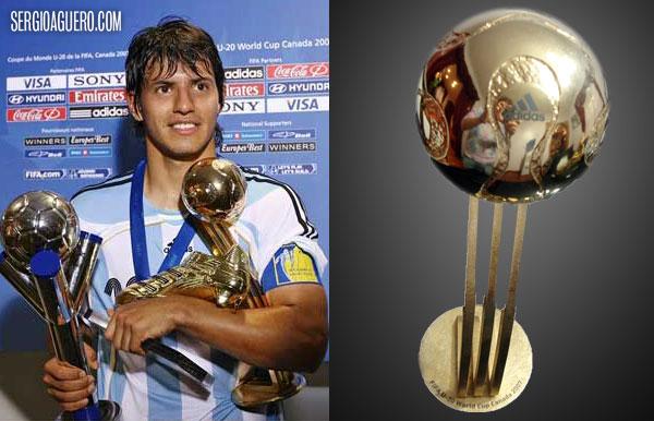 Pelota Dorada, Mundial FIFA U-20