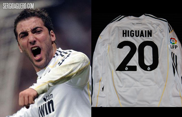Camiseta de Higuain