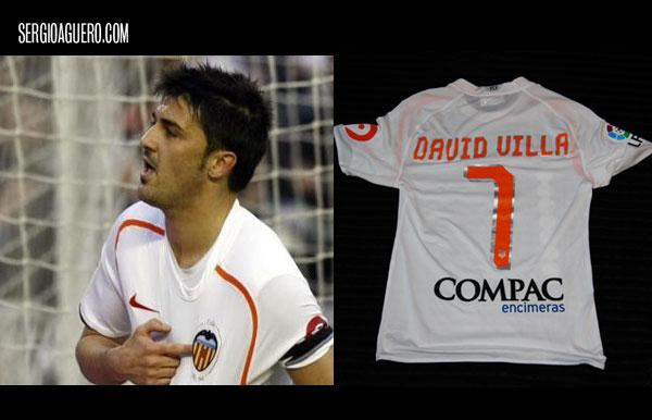 Camiseta de David Villa