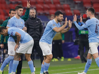 Record- breaking City too strong for Gladbach