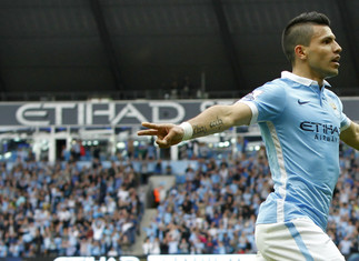 Aguero named Etihad Player of the Month for January