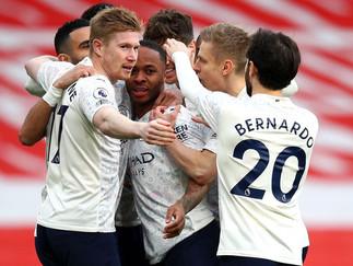 City equal Club record with batling win at Arsenal