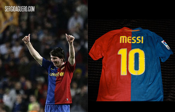 Camiseta de Lio Messi