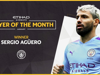 Sergio wins Etihad Player of the Month