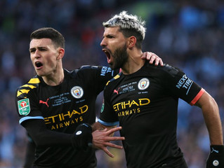 Campeones de la Copa de la Liga por tercera vez consecutiva