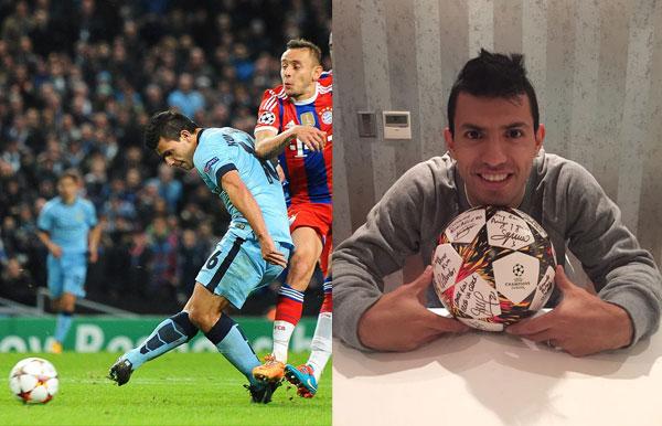 Pelota Hat trick vs.Bayern Munich