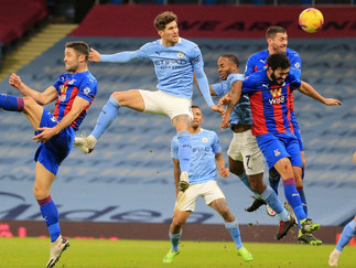 Stones nets brace as City outclass Crystal Palace