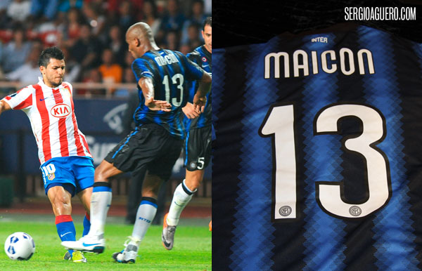 Camiseta Maicon