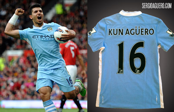 Camiseta City 6 - United 1