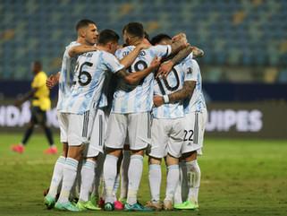 Copa America: onto Semifinals!