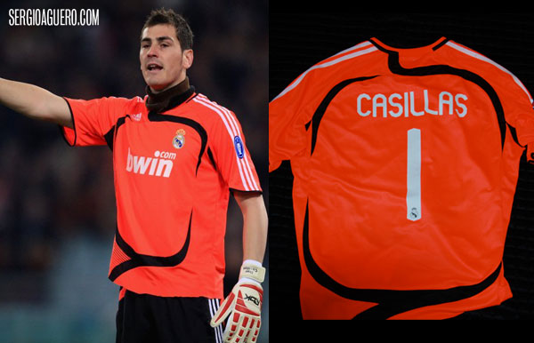Camiseta de Iker Casillas