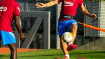 Sergio se suma a los entrenamientos con el grupo