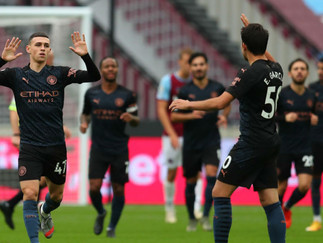 Foden on target as City held at West Ham