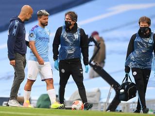 Goleada al Burnley y lesión del Kun