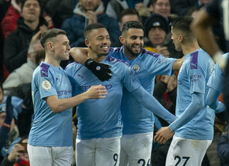 Jesus double gives City perfect start to new year