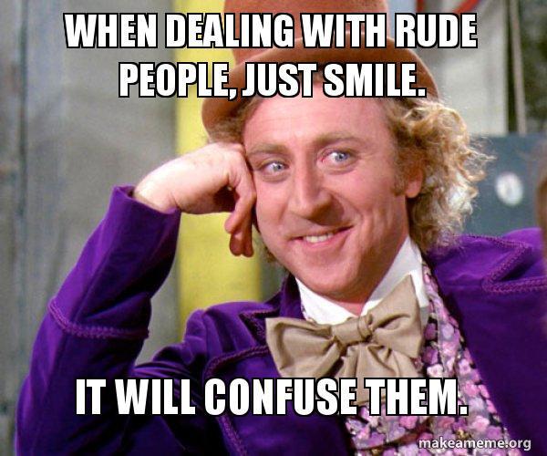 smile,meme,rude people,hat,bow