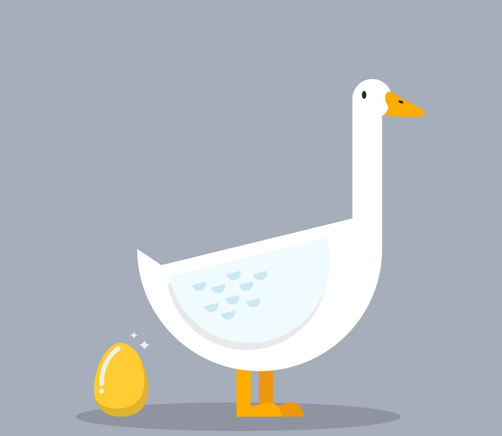 goose,golden egg