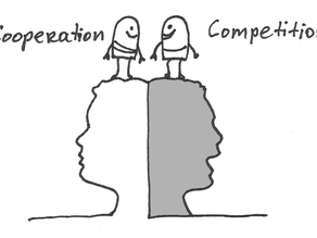 Thin line between cooperation and competition