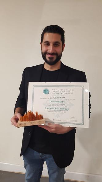 Alberto Rivas Rodríguez XI Premio Leopoldo Luis de Poesía.jpg