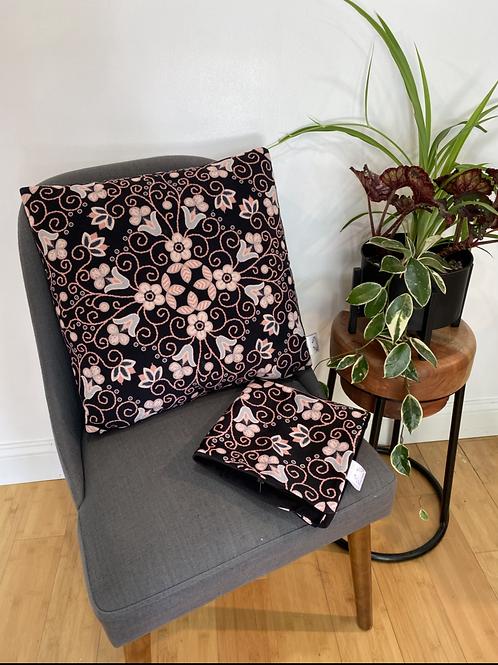 Floral Kaleidoscope pillow case