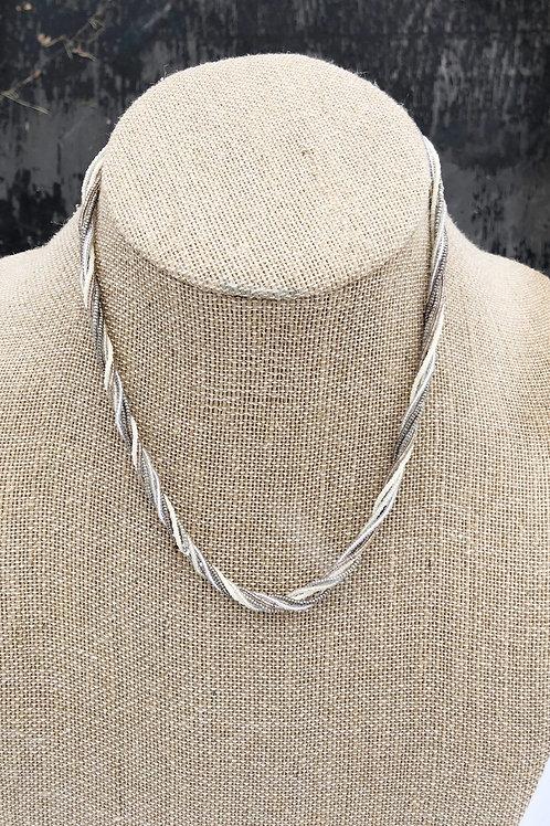 Winter White Multi-Strand Necklace