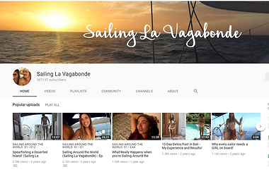 Sailing La Vagabonde YouTube page