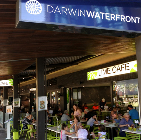 Darwin Waterfront Eateries