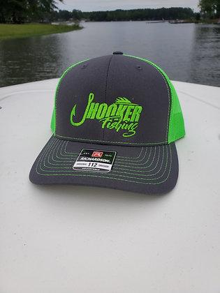 JHOOKER CHARCOAL/ NEON GREEN