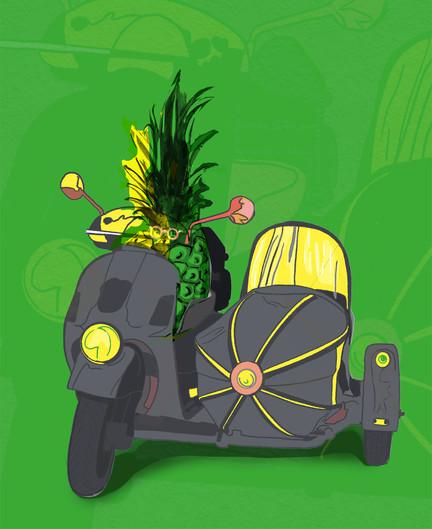 ananasen kör