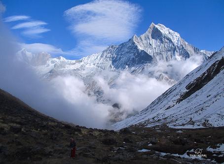 The Untouched Holy Mountain of Nepal #ภูเขาต้องห้าม ของประเทศเนปาล#