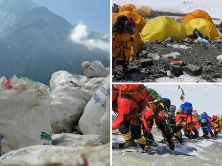 Mount Everest ที่ทิ้งขยะที่สูงที่สุดในโลก