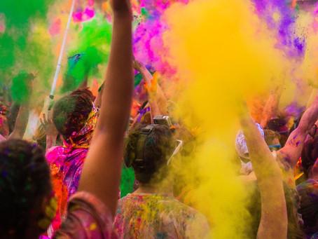 โฮลิ เทศกาลสงกรานต์ ของชาวเนปาล