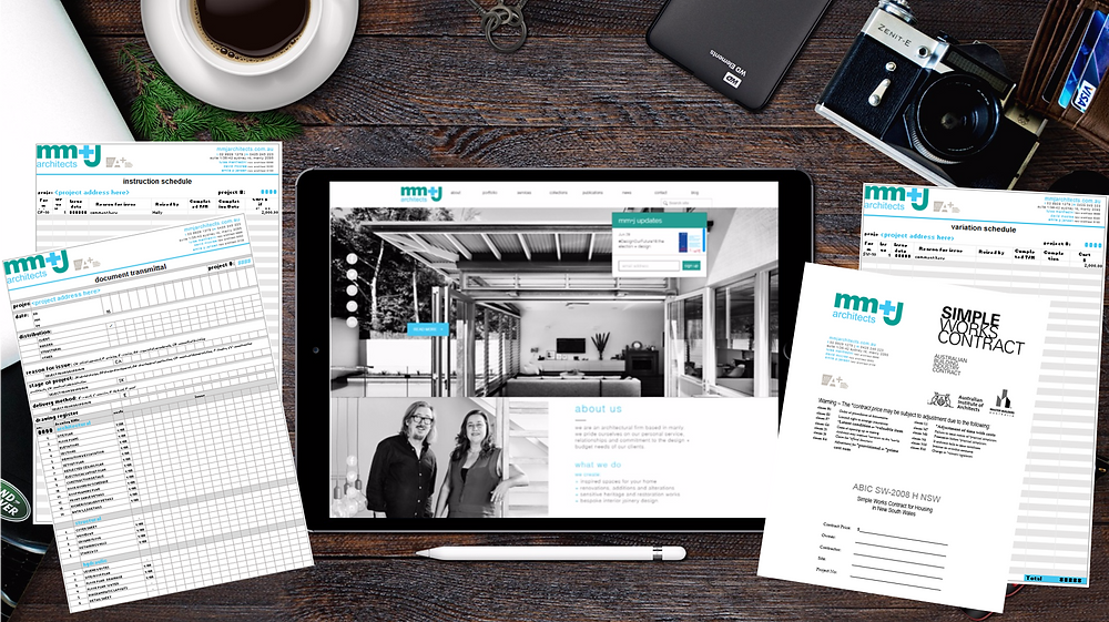 mm+j architects services - new pages launched on website today!