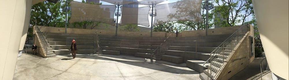 Walt Disney Concert Hall Outdoor amphitheatre