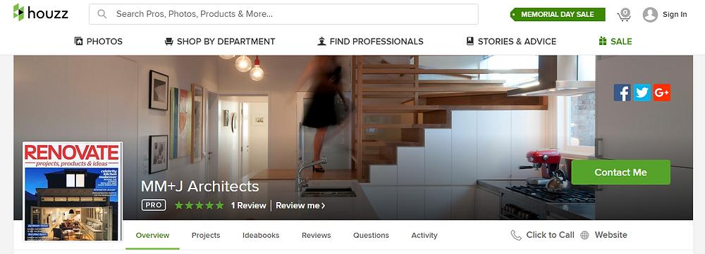 mm+j architects houzz profile