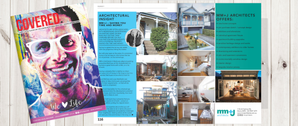 mm+j architects insights COVERED magazine spring issue pp116-7