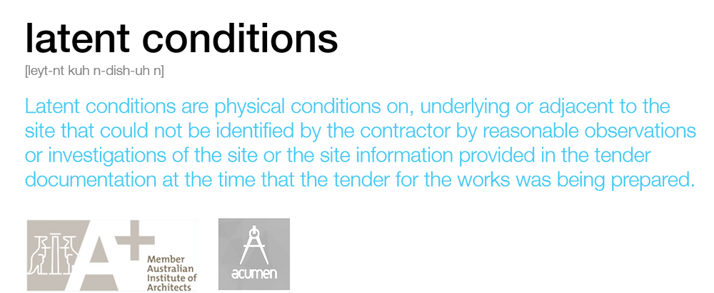 mmj architects_architectural definition_latent conditions_acumen aia