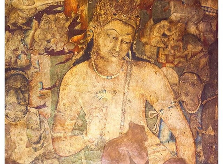1,500 year old UNESCO heritage murals shining a light on ancient Indian art