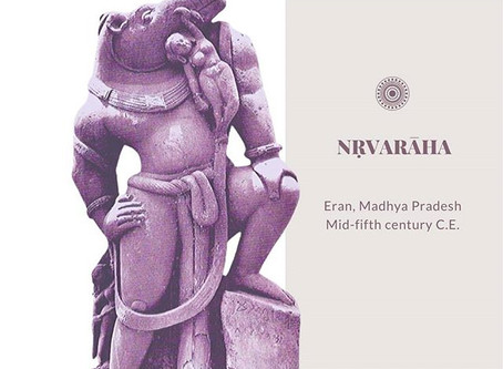 A legendary Central Indian depiction of the Varaha