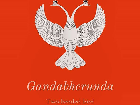Gandabherunda: The 'terrible' bird that's a common Rangoli motif