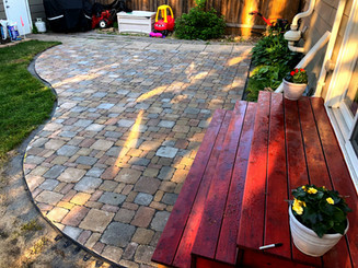 Hardscaping (Paver Patio)