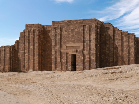Saqqara, The oldest complete stone building known in history
