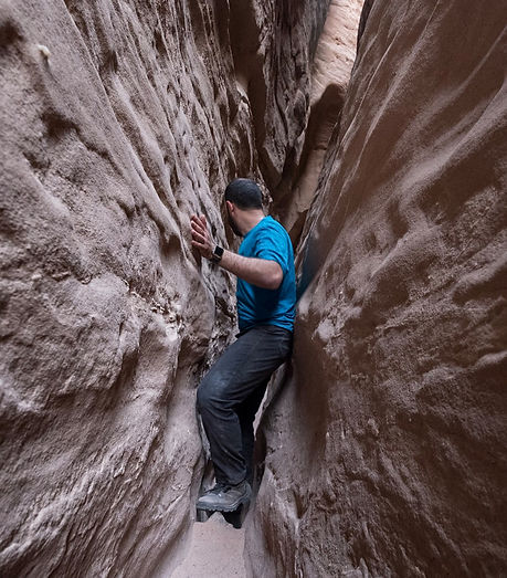 adventure in canyons and photography