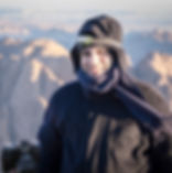 fujifilm ambassador on top of saint catherine mountain during the hike and the camp